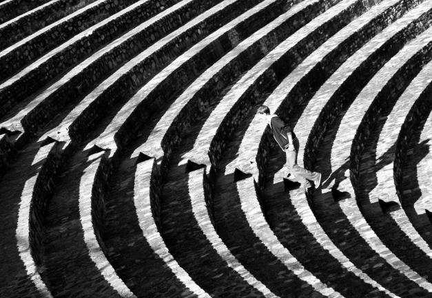 Lione - Anfiteatro romano. Fotografia di Alessandra Fermi
